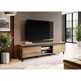 NAVE 2 170cm Tv-meubel Eiken Wotan Tv-kast