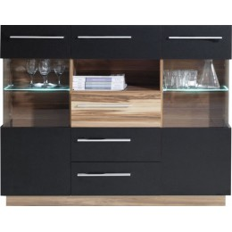 Dressoir - Vitrinekast Monsun 5