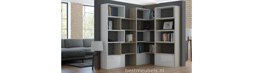 Wandrekken - Boekenkasten